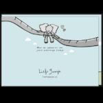 Gefeliciteerd er is een baby (olifantje) geboren