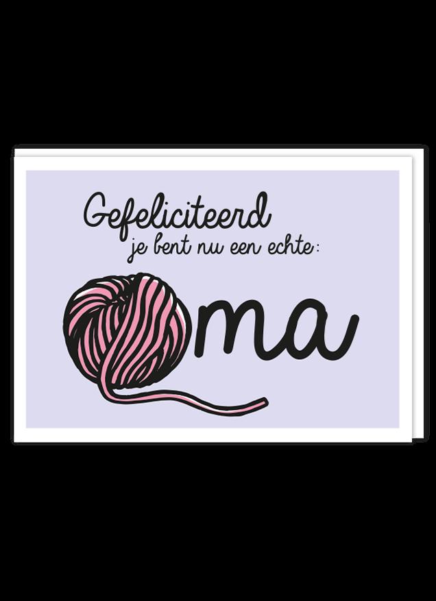 Ongekend Opa & oma | Echte oma geworden - Liefs Jansje TO-42