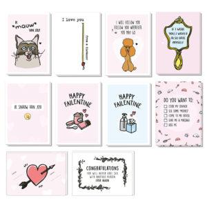 10 grappige Valentijnskaarten